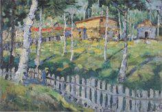 Kazimir Malevich, Birkenhain, 1905