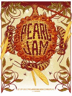 Munk One Pearl Jam Charlotte Poster Artist Edition Release Details