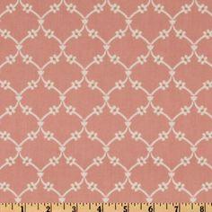 fabric ($5.98/yard) annette tatum house fall 2009 garden vine coral