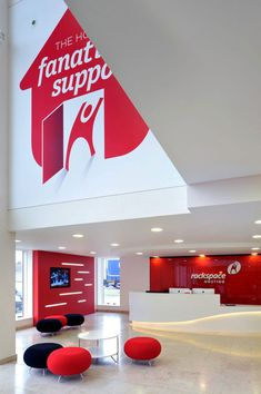 Rackspace office design