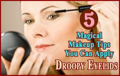 If you have droopy eyelids and want to hide it then you can try these effective makeup tips to hide droopy eyelids. All these five makeup tips are very easy to apply and you can easily add it to your daily routine makeup and see the results. Makeup For Droopy Eyelids, Dry Eyelids, Drooping Eyelids, Droopy Eyes, Eyelid Lift, Facial Yoga, Graves Disease, Magical Makeup