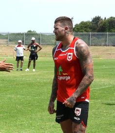 Josh Dugan of the Dragons
