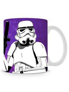 Caneca Purple Stormtrooper. R$ 29,90! Compre em até 6X sem juros. Entregamos para todo Brasil. Embalagem pra presente GRÁTIS!