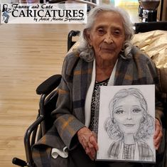 Show Grandma that you love her and how beautiful she is in a cartoon grandma caricature by artist Marta Sytniewski call 773-574-7757 or email FunnyAndCuteCaricatures@gmail.com for your cartoon grandmother drawing  #cartoongrandmadrawing #cartoongrandma #grandmadrawing #grandmothercartoon #grandmacartoon #grandmacaricature #MartaSytniewski #cartoongrandmother #grandmotherdrawing #grandmothercaricature Cartoon Grandma, Caricature Drawing, A Cartoon, How Beautiful, Love Her, Mothers, Drawings, Funny, Artist