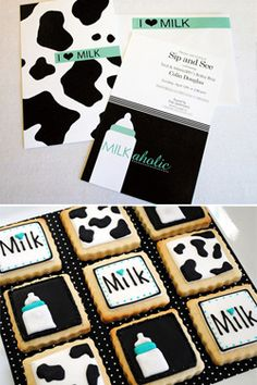 Coed Milkaholic Baby Shower- this is a cute presentation idea for any theme! @katevankol @teganfunk does this have VanKol written all over it or what?!?!