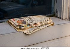 Have a room in my house with newspaper flooring!