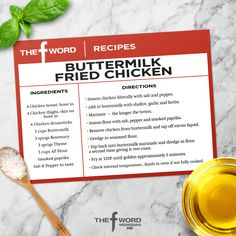 Check out Buttermilk Fried Chicken | The F Word on FOX