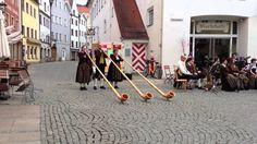 Bavarian Music with Alphorns