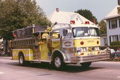 Hershey, PA FD Old Engine 48-1 - 1969 Hahn/1982 Swab Refurb.
