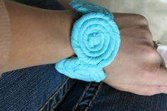 fabric bracelet #tutorial