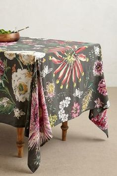 Anthropologie Butterfly Field Tablecloth #anthrofave #anthropologie
