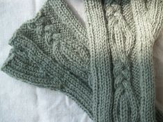 Mad Knitting: Handwarmer pattern, as promised