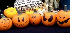 DIY Halloween : DIY Quick and Easy Halloween Humor Using Mini Pumpkins or Gourds DIY Halloween Decor