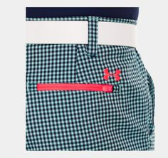 Men's UA Gingham Plaid Golf Shorts  Apparel Designs by Michael L. Wherley for Under Armour