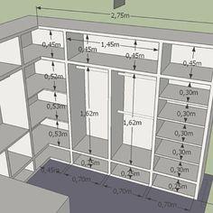 ideas for master bedroom closet designs Wardrobe Room, Wardrobe Design Bedroom, Master Bedroom Closet, Diy Bedroom, Bedroom Small, Master Suite, Trendy Bedroom, Master Bedrooms, Mirror Bedroom