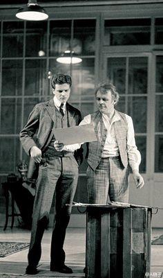 Colin Firth in the Caretaker