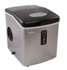 Perfect NewAir AI100SS Portable Ice Maker Http://shorl.com/pajesabrymostu
