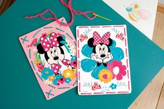 #vervaco #kitsforkids #embroidery #needlework #stitch #stitching #diy #kit #ideas #inspiration #needleandthread #artsandcrafts #arts #easy #kidsroom #disney #blue #embroiderycards #minny #mouse #stitch #kids