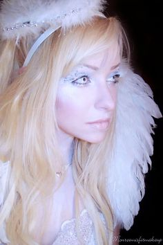 Here we share 21 simple & beautiful Angel Halloween Makeup, Costume Ideas With Tutorial, Videos & Pictures. Enjoy your Angel Halloween Look. Angel Halloween Makeup, Halloween Makeup Looks, Halloween Cosplay, Halloween Ideas, Happy Halloween, Halloween Costumes, Kids Makeup, Fx Makeup, Makeup Ideas