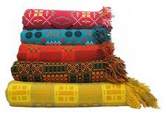 Jen Jones Welsh Quilts - Tapestry Blankets: Glowing Bright