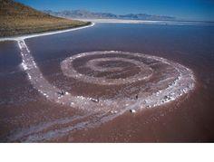 spiral jetty - Google Search