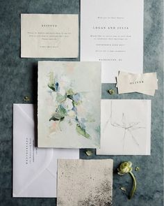 """The Bridal Theory on Instagram: """"Quite possibly one of my favorite paper suites Ive seen all year. Link in profile to more! Gorgeous paper from…"""""""