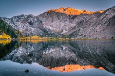 Convict Lake reflections by Aquaholic SB on 500px