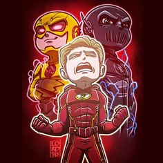 """Lordmesa Art — """"Not Again"""" ⚡️⚡️ Poor Barry is going to have..."""