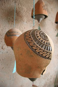 Clay Bells by tunnelarmr, via Flickr