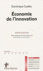 Ouvrage recommandé par Eric Rigamonti -L'auteur ne propose pas de grandes théories économiques sur l'influence de l'innovation sur les mécanismes économiques mais des réponses à des questions par des exemples et des statistiques internationales.