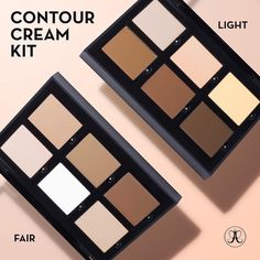 """BIG SURPRISE NEW FAIR & LIGHT CONTOUR CREAM KITS $40 are here The long awaited Fair Contour Cream Kit and yet another surprise, a brand new Light…"""