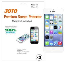 JOTO Premium Screen Protector Film for Apple iPhone 5C 2013 5 C ** Want to know more, click on the image.