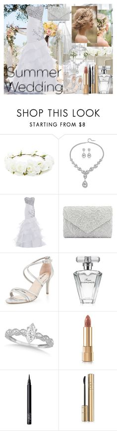 """""""Summer wedding"""" by isaiahkiss ❤ liked on Polyvore featuring Forever 21, Carvela, Avon, Allurez, Dolce&Gabbana and NARS Cosmetics"""