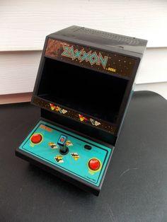 Vintage Rare 1982 Sega Coleco ZAXXON Mini Arcade Tabletop Game WORKING #Sega