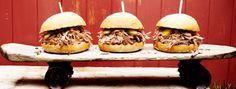 Zeste | Burgers de porc à l'effiloché de la Caroline