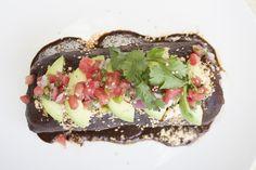 Egg White Mole Burrito off our Brunch menu!