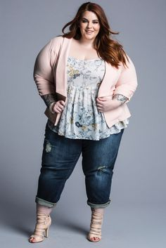 What an adorable outfit!! Tess Holliday's Unretouched 'Torrid' Campaign Photos Are An Ode To Positive Body Image