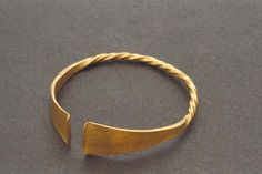 Viking arm ring made of gold, Tanum, Sweden.