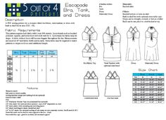 PDF sewing pattern for the Escapade bra, top, and dress in sizes XXS - Pattern includes bust ruching detail and lots of stylish options. Bombshell Swimsuit, Plus Size Sewing Patterns, Pdf Patterns, Patterns For Pirates, Create Kids Couture, Swimsuit Pattern, Womens Tankini, Mood Fabrics, Dress Making Patterns