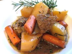 root veggie stew with beef