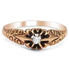 The Evana Ring #BrilliantEarth #Vintage