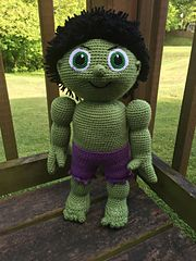 Ravelry: Green Buddy - Kid Hero pattern by Mary Smith