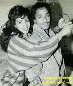 Marlon Jackson and wife, Carol.