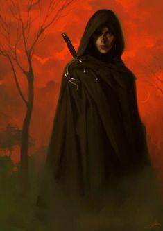 Fantasy Character Design, Character Drawing, Character Inspiration, High Fantasy, Dark Fantasy Art, Dark Brotherhood, The Ancient Magus, Vampire, Fantasy Paintings