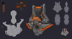 concept for mobile game --galaxy rebels(partA), buffy wang on ArtStation at https://www.artstation.com/artwork/DqOb0
