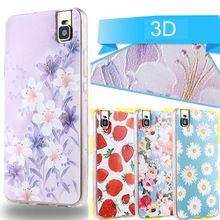 Macio TPU 3D caso Huawei honra 7i tampa do caso, Moda casos de cobertura de volta caso para Huawei honor 7i 7i 100%(China (Mainland))