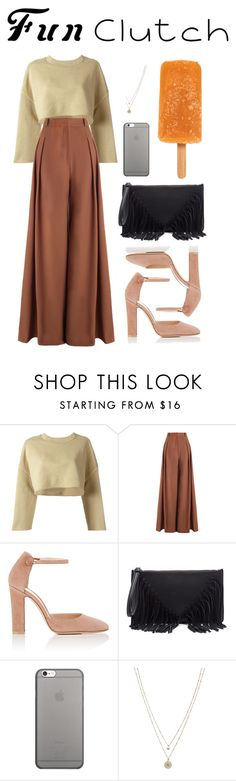 """""""Untitled #108"""" by deandelaina on Polyvore featuring adidas Originals, Zimmermann, Gianvito Rossi, Sole Society, Native Union and LC Lauren Conrad"""