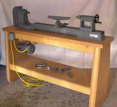 Another lathe stand