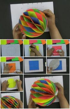 How to Make a Paper Honeycomb Ball
