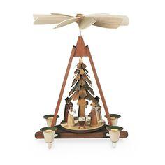 Mueller - Pyramid Nativity Scene - Wooden Duck Shop